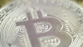Het Eind van de bellenuitbarsting van Bitcoin Bitcoin stock video
