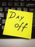 Het eind van de dag Stock Foto's