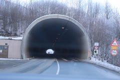 Het eind van de Tunnel Stock Foto