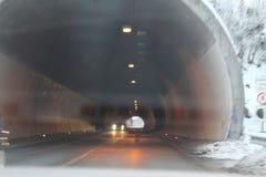 Het eind van de Tunnel Royalty-vrije Stock Fotografie