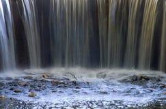 Het Eind van de waterval Royalty-vrije Stock Foto's