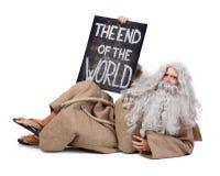 Het eind van de wereld Stock Afbeelding