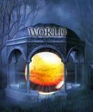 Het eind van de wereld Royalty-vrije Stock Foto