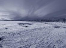 Het eind van de winter Stock Afbeeldingen