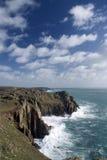 Het eind van het land, Cornwall. Engeland Royalty-vrije Stock Fotografie