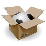Het eindbal van de doos stock illustratie