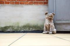 Het einde van de honddeur royalty-vrije stock fotografie