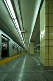 Het Einde van Vert van de metro Stock Foto's