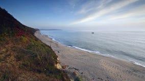 Het eindeloze strand stock footage