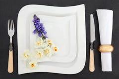 Het elegante Dineren Stock Fotografie