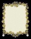 Het elegante Frame van de Werveling Royalty-vrije Stock Foto's