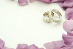Het elegante Huwelijk nodigt uit Royalty-vrije Stock Fotografie
