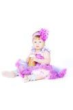Het elegante meisje Royalty-vrije Stock Fotografie