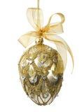 Het elegante Ornament van het Ei Jeweled Stock Afbeelding