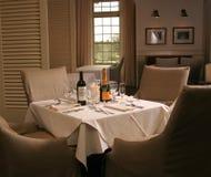 Het elegante Plaatsen van het Diner stock fotografie
