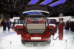 Het Elektrische Concept Minivan van Volkswagen Bulli Stock Afbeelding