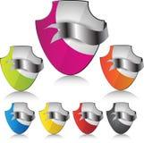 Het element of het pictogram van het Web voor veiligheid. Royalty-vrije Stock Fotografie
