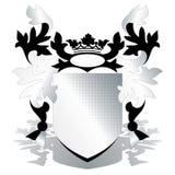 Het element van CREST met rooster Royalty-vrije Stock Afbeeldingen