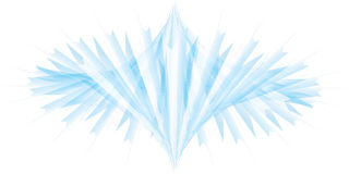 Het element van de ijsberg Royalty-vrije Stock Foto's