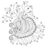Het element van de krabbel Royalty-vrije Stock Afbeelding