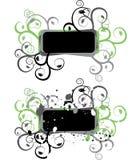 Het element van Grunge voor ontwerp, vector stock illustratie