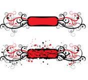 Het element van Grunge voor ontwerp, vector vector illustratie