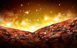 Het element van het barbecuevlees Royalty-vrije Stock Foto