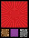 Het element van het de stralenontwerp van de zon Royalty-vrije Stock Foto's