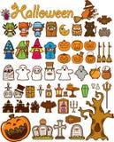 Het Element van het Ontwerp van de Vakantie van Halloween Royalty-vrije Stock Foto