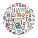 Het element van het onderwijsontwerp Stock Afbeelding