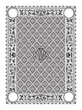 Het elementengrafiek van de grens klassieke flora royalty-vrije stock foto