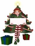 Het Elf van Kerstmis Stock Afbeelding