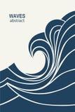 Het Embleem abstract ontwerp van de watergolf De Sport Logotype c van de schoonheidsmiddelenbranding Stock Fotografie