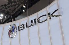 2013 het embleem autoshow-BUICK van GZ Stock Foto's