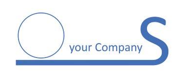Het Embleem dat van het bedrijf - S beëindigt Royalty-vrije Stock Afbeelding