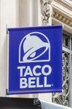 Het embleem en het teken van Taco Bell royalty-vrije stock foto's
