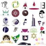 Het embleem ontwerpt nieuw Royalty-vrije Stock Afbeelding