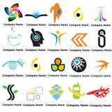 het embleem ontwerpt nieuwe eenvoudig Stock Fotografie