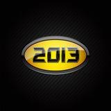 het embleem van 2013 Stock Foto