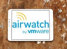 Het embleem van AirWatchvmware stock afbeeldingen