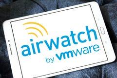 Het embleem van AirWatchvmware stock foto