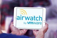 Het embleem van AirWatchvmware stock foto's