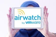 Het embleem van AirWatchvmware stock afbeelding