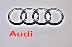 Het embleem van Audi Stock Afbeelding