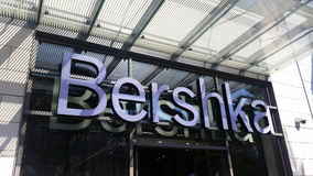 Het Embleem van Bershka Stock Foto's
