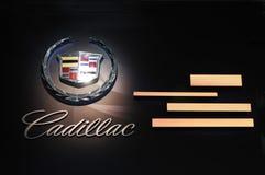 Het embleem van Cadillac Stock Fotografie