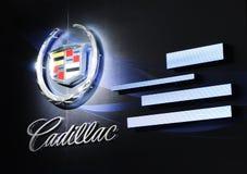 Het embleem van Cadillac Stock Afbeeldingen