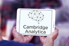 Het embleem van Cambridge Analytica stock foto