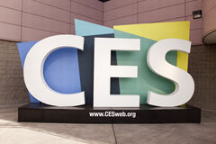 Het Embleem van Consumer Electronic Show Royalty-vrije Stock Fotografie