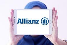 Het embleem van de Allianzverzekering Stock Foto